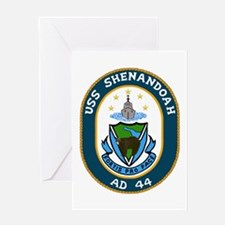 USS Shenandoah (AD 44) Greeting Card
