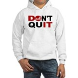 Dont quit swim Hooded Sweatshirt