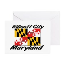 Ellicott City Maryland Greeting Cards (Pk of 10)