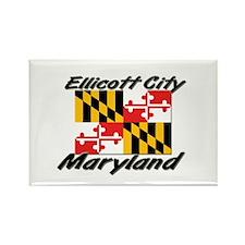Ellicott City Maryland Rectangle Magnet