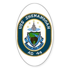USS Shenandoah (AD 44) Oval Decal