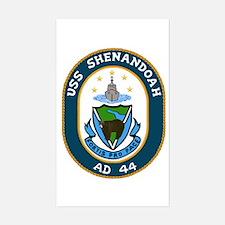 USS Shenandoah (AD 44) Rectangle Decal