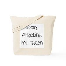 Sorry Angelina...Tote Bag