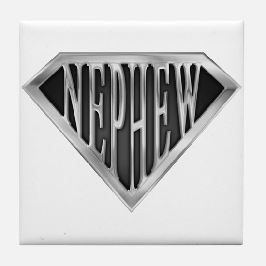 SuperNephew(metal) Tile Coaster