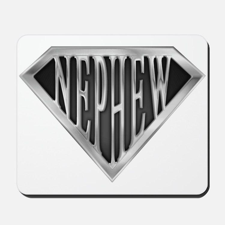 SuperNephew(metal) Mousepad