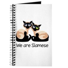 We Are Siamese Cats Journal