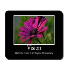 Vision-Purple Flower Mousepad