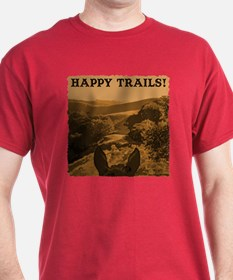 Happy Trails. Horse T-Shirt