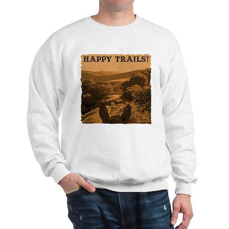 Happy Trails. Horse Sweatshirt