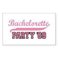 Bachelorette Party 09 Rectangle Decal