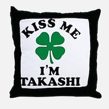 Funny Takashi Throw Pillow