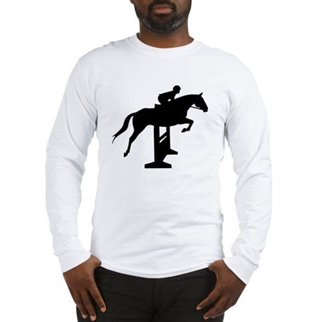 Hunter Jumper Over Fences Long Sleeve T-Shirt