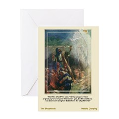 The Shepherds-Copping-Greeting Card