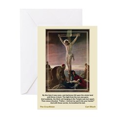 The Crucifixion-Bloch-Greeting Card