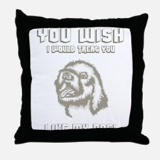 Lagotto Romagnolo Throw Pillow