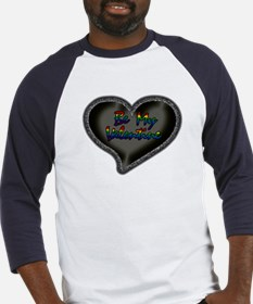 Gay Be My Valentine Baseball Jersey