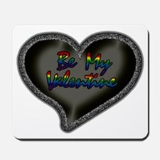 Gay Be My Valentine Mousepad