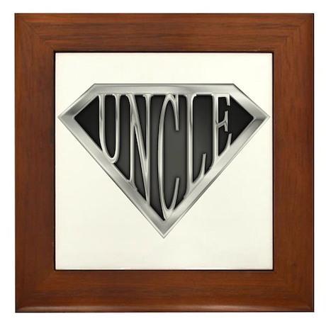 SuperUncle(metal) Framed Tile