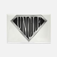 SuperUncle(metal) Rectangle Magnet