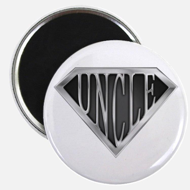SuperUncle(metal) Magnet