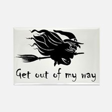 Unique Witch Rectangle Magnet (10 pack)