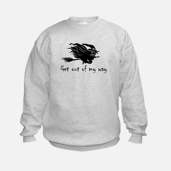 Cute Witch humor Sweatshirt