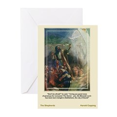The Shepherds-Copping-Greeting Cards (Pk of 10)