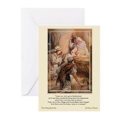 Shepherds Worship-Dixon-Greeting Cards (Pk of 10)