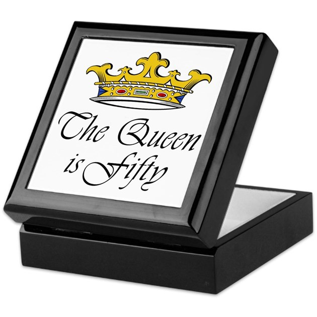 50th Birthday Gifts Woman Keepsake Box By Tshirts_gifts