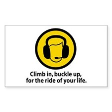 Climb In Rectangle Decal