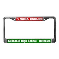 Naha Eagles License Plate Frame