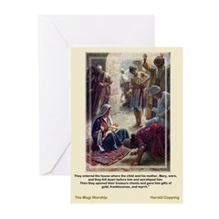 Magi Worship-Copping-Christmas Cards (Pk of 10)