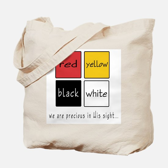 in His sight Tote Bag