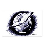 Earth Homer Pigeon Postcards (Package of 8)