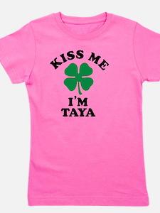 Funny Taya Girl's Tee