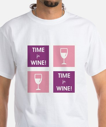 TIME FOR WINE! T-Shirt