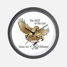 NEXT to The Last Act of Defiance Wall Clock