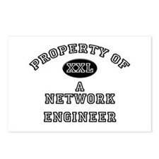 Property of a Network Engineer Postcards (Package
