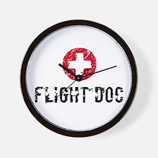 Flight Doc Wall Clock