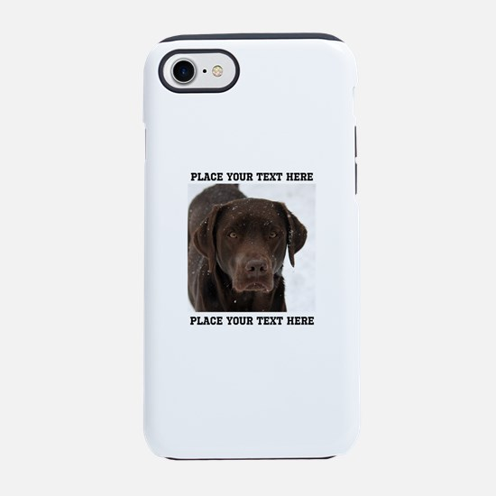 Dog Labrador Retriever iPhone 8/7 Tough Case