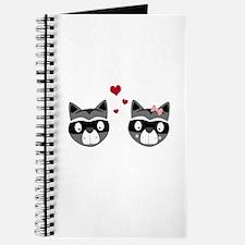 Racoons in love Journal