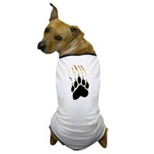 Bear Pride Paw Rip Dog T-Shirt