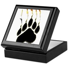 Bear Pride Paw Rip Keepsake Box