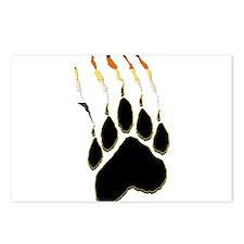 Bear Pride Paw Rip Postcards (Package of 8)