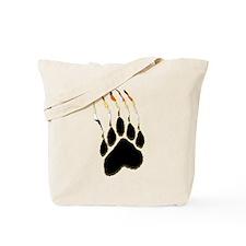 Bear Pride Paw Rip Tote Bag