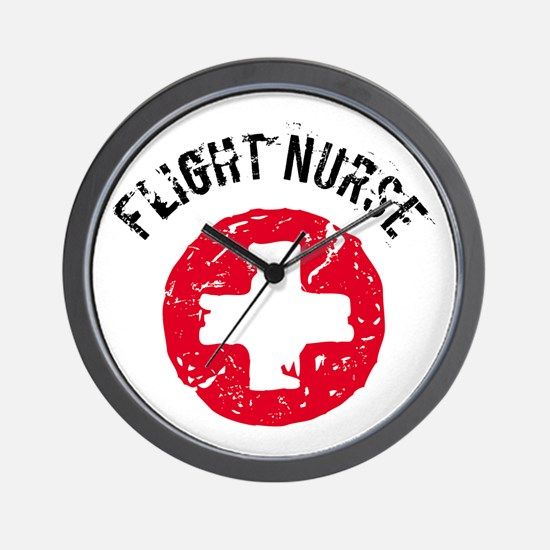 Flight Nurse Wall Clock