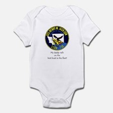 HMJ: Daddy sails on the Best Boat! Infant Bodysuit