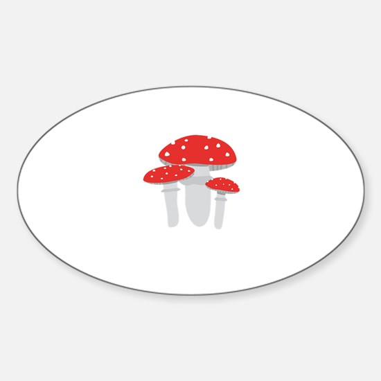 Toadstools Decal