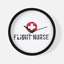 Flight Nurse SM Wall Clock