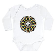 Cool Kaleidoscope Long Sleeve Infant Bodysuit